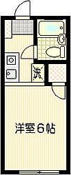 ハウスアイテムI[A-1号室]の間取り