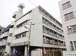 大阪府大阪市住吉区長居4丁目の賃貸マンションの外観