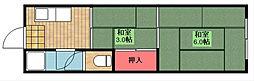 城山マンション[1階]の間取り