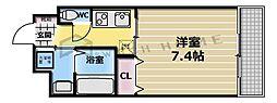 レガーロ布施[2階]の間取り