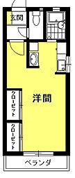 ニュー和合[1階]の間取り