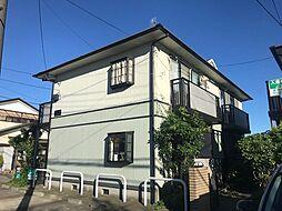 神奈川県横浜市港北区新吉田町の賃貸アパートの外観