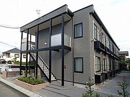 東京都足立区竹の塚2丁目の賃貸アパートの外観