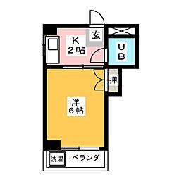 MYビル[4階]の間取り