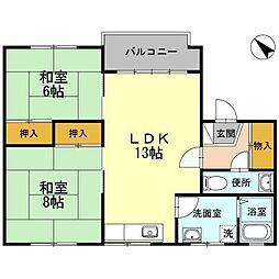 ニートハウス[2階]の間取り