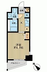 KDXレジデンス多摩川[0601号室]の間取り