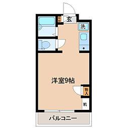 ハイツA&K[5階]の間取り