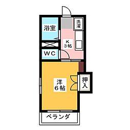 タウニーITO[2階]の間取り