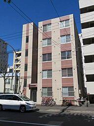北海道札幌市中央区南六条西8丁目の賃貸マンションの外観