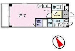 K.Oレーベン[2階]の間取り