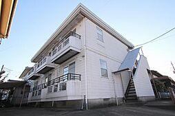 埼玉県幸手市大字千塚の賃貸アパートの外観