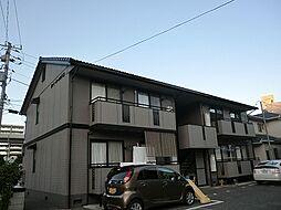 ファミールカワテ B棟[2階]の外観