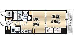 セントロイヤルクラブ新大阪[6階]の間取り