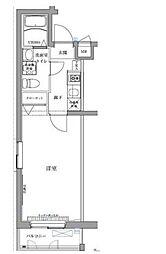 エスパシオ西高島平[4階]の間取り