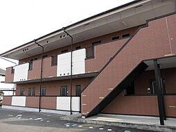 京都府木津川市木津八色の賃貸アパートの外観