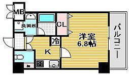 ローズステージ泉大津駅前[1階]の間取り