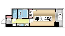 エステムプラザ神戸水木通グランクロス[904号室]の間取り