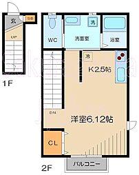 Casa Piccolina[2階]の間取り
