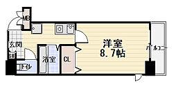 アヴェーレ太子橋[1階]の間取り