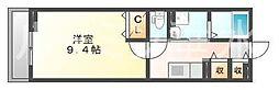 兵庫県神戸市垂水区舞子台5丁目の賃貸アパートの間取り