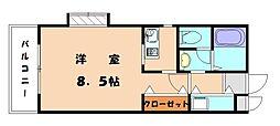 福岡県福岡市東区和白東4丁目の賃貸マンションの間取り