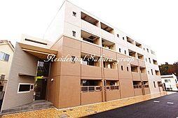 神奈川県藤沢市高倉の賃貸マンションの外観