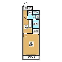 メゾン・ヴィーナス[5階]の間取り