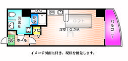 KATAYAMA BLDG21[1101号室]の間取り