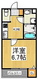 Riboshini(リボシーニ)[1階]の間取り