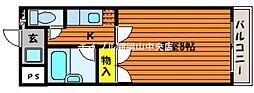 フィオーレK2[2階]の間取り