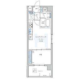 Portside Urban Residence[801号室]の間取り