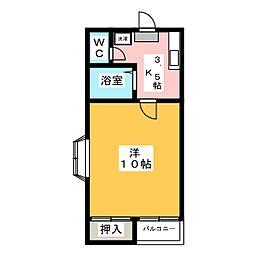 ミタホーム韮塚[1階]の間取り
