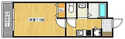 クオリアけやき通り[8階]の間取り