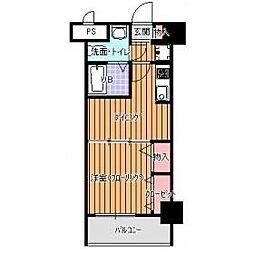 リバティ高砂六番館[9階]の間取り