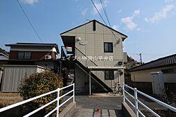 岡山県玉野市宇野7丁目の賃貸アパートの外観