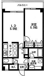ソレイユ西蒲田[0607号室]の間取り