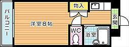 折尾自由ヶ丘センチュリー21[1階]の間取り