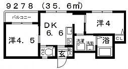 Domani(ドマーニ)[502号室号室]の間取り