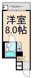 綾瀬ロイヤルパレス[703号室]の間取り