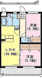 シャルテハイムIII[4階]の間取り