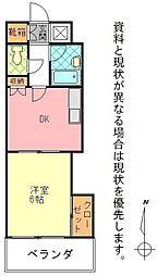 石垣東成ビル[1003号室]の間取り
