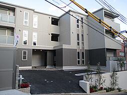 兵庫県神戸市中央区北野町1丁目の賃貸アパートの外観