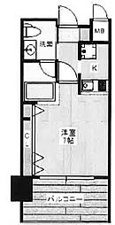 W.O.B.ROKKOMICHI[5階]の間取り