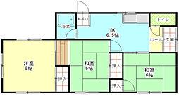 [一戸建] 静岡県富士市原田 の賃貸【/】の間取り