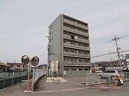 マンションポローニア[1階]の外観