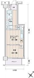 豊洲レジデンス[0620号室]の間取り