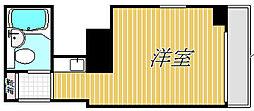 ロジマン御苑[8階]の間取り