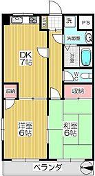 プランドール(内谷)[103号室]の間取り