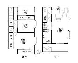 [テラスハウス] 埼玉県さいたま市南区別所1丁目 の賃貸【埼玉県 / さいたま市南区】の間取り