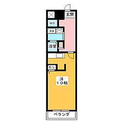 グラシオッソ[3階]の間取り
